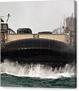 A Landing Craft Air Cushion Approaches Canvas Print