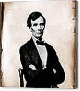 Abraham Lincoln, 16th American President Canvas Print