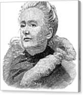 Amelia A. B. Edwards Canvas Print