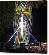 Amusement Park Canvas Print