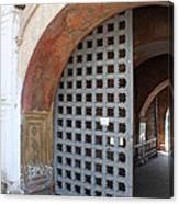 Ancient Gate Canvas Print