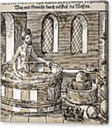 Archimedes (c287-212 B.c.) Canvas Print