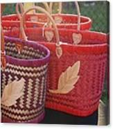 3 Baskets Canvas Print