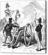 Battle Of Buena Vista Canvas Print