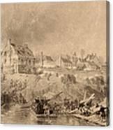 Battle Of Fredericksburg Canvas Print