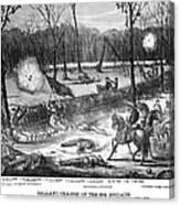 Battle Of Shiloh, 1862 Canvas Print