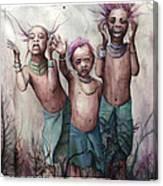 3 Canvas Print