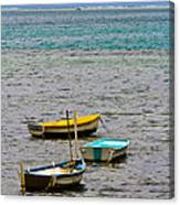 3 Boats Canvas Print