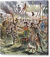 Boston: Stamp Act Riot, 1765 Canvas Print