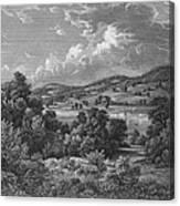 Braddock: Fort Duquesne Canvas Print