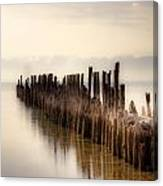 Breakwater Canvas Print