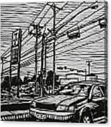 Burnet Road Canvas Print