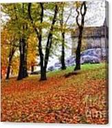 Castle In Autumn Canvas Print