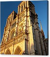 Cathedral Notre Dame Canvas Print