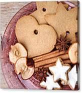 Christmas Gingerbread Canvas Print