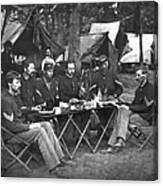Civil War Soldiers Canvas Print