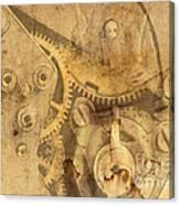 Clockwork Mechanism Canvas Print