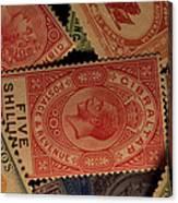 Closeup Of Classic British Empire Canvas Print