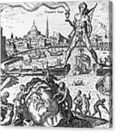 Colossus Of Rhodes Canvas Print