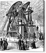 Corliss Steam Engine, 1876 Canvas Print