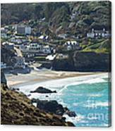 Cornish Seascape St Agnes  Canvas Print