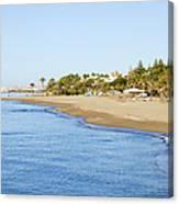 Costa Del Sol In Spain Canvas Print