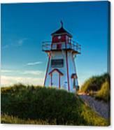 Cove Head Lighthouse Canvas Print