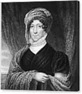 Dolley Madison (1768-1849) Canvas Print