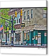 Downtown Willoughby Canvas Print