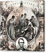 Emancipation Proclamation Canvas Print