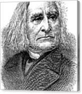 Franz Liszt (1811-1886) Canvas Print
