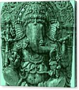 Ganesha, Hindu God Canvas Print