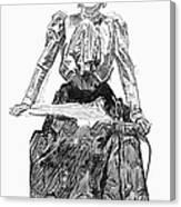 Gibson Girl, 1899 Canvas Print