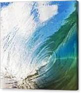 Glassy Breaking Wave Canvas Print