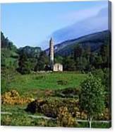 Glendalough, Co Wicklow, Ireland Canvas Print