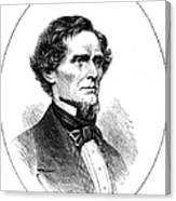 Jefferson Davis (1808-1889) Canvas Print