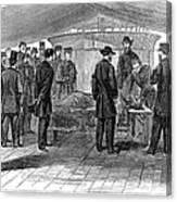 John Wilkes Booth Canvas Print
