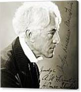 Kenesaw Mountain Landis Canvas Print