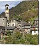 Lavertezzo - Ticino Canvas Print