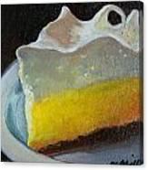 Lemon Pie Canvas Print