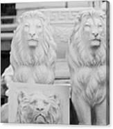 3 Lions Canvas Print
