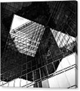 London Southbank Abstract Canvas Print