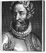 Luiz Vaz De Camoes (1524-1580) Canvas Print