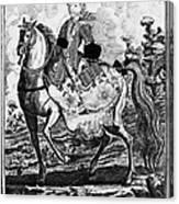 Marquise De Pompadour Canvas Print