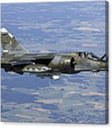 Mirage F1cr Of The French Air Force Canvas Print