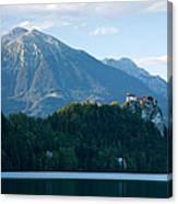 Mountain Backdrop Canvas Print
