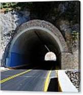 Mountain Tunnel. Canvas Print