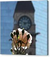 Nature With Architecture Canvas Print