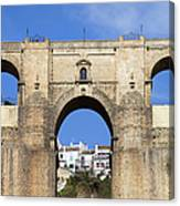 New Bridge In Ronda Canvas Print