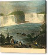 Niagara Falls, 1837 Canvas Print